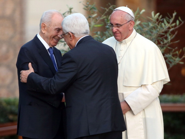 Pope Francis Meets Israeli President Shimon Peres, Palestinian President Mahmoud Abbas And Patriarch Bartholomaios I To Pray For Peace