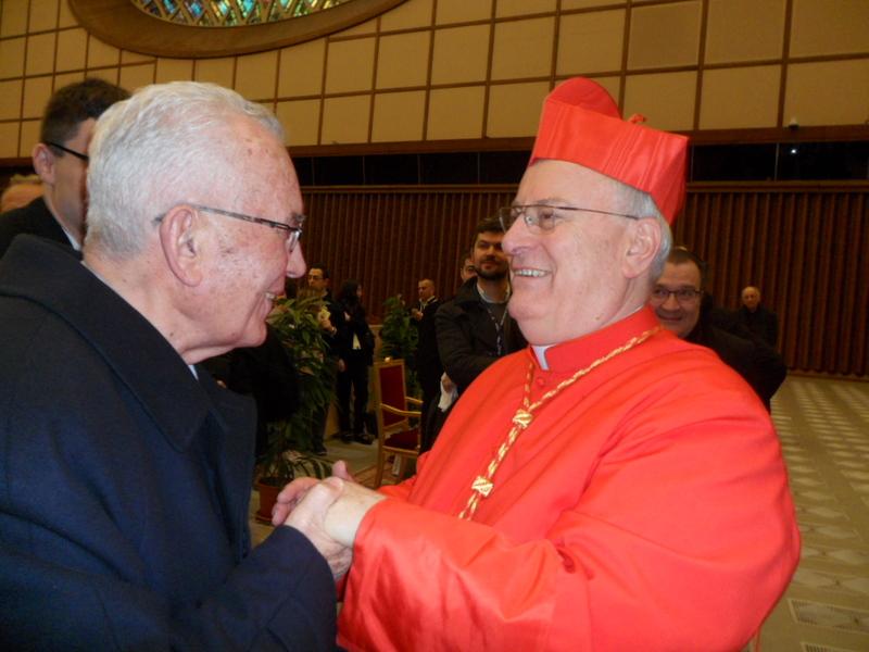 Incontro fraterno con il cardinale e giovani preti di Perugia