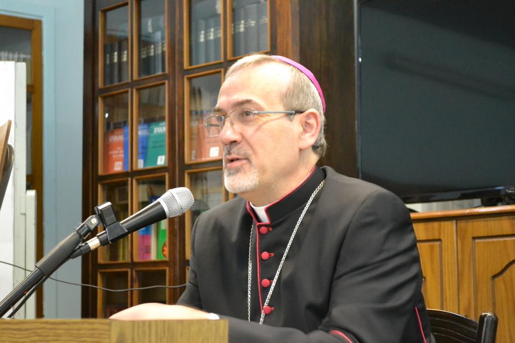 Incontro dei Religiosi con il vescovo Pizzaballa